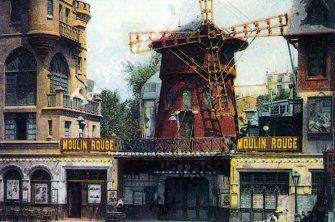 Μια τολμηρή Αρσακειάδα γυμνή στο Moulin Rouge!