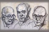 Eικαστικό Αφιέρωμα σε τρεις Δασκάλους της Τέχνης από πέντε άξιους μαθητές τους
