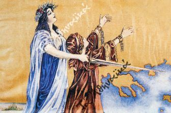 Μεγάλο συλλαλητήριο για τη Μακεδονία στους Στύλους του Ολυμπίου Διός (1904)