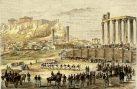 Η Καθαρά Δευτέρα του 1844 στους Στύλους Ολυμπίου Διός