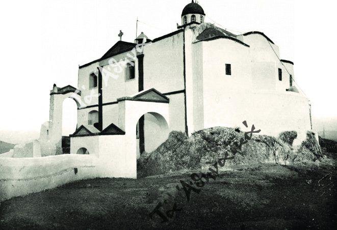 Ο γραφικός Αϊ Γιώργης του Λυκαβηττού και ο ανακαινιστής Γ. Κορομηλάς
