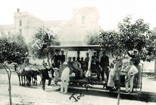 Ο Βενιαμίν Βωτύ και τα ιππήλατα τραμ