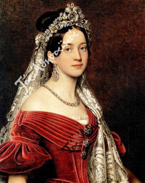 Η βασίλισσα Αμαλία Joseph Stieler 1836-37
