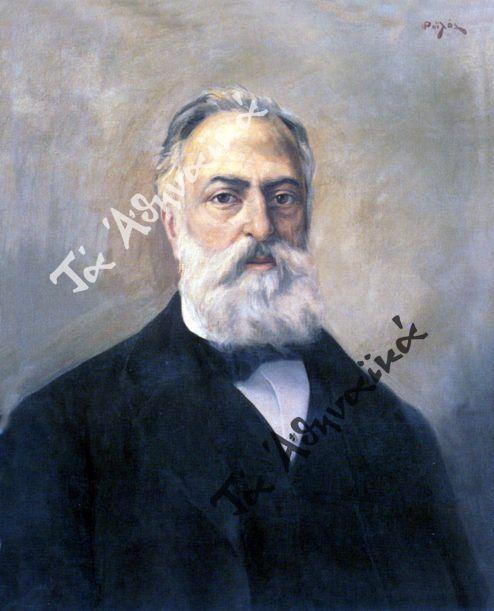 Δύο από τους ανθυποψήφιοι του Ι. Σουμαρίπα (1891). Μιχαήλ Μελάς και Δημήτριος Καλλιφρονάς.