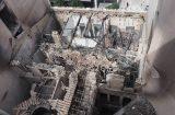 Τι απέμεινε από τη φωτιά του κτηρίου της οδού Σταδίου 47