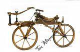 Το πρώτο ποδήλατο με ξύλινους τροχούς στην Αθήνα