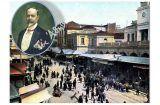 Το Πτηνοσφαγείο στην ταράτσα της Δημοτικής Αγοράς από τον Σπ. Μερκούρη
