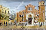 Ο ναός του Αγίου Φιλίππου  και η θορυβώδης πλατεία του