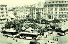Οι αφετηρίες των λεωφορείων στην πλατεία Κάνιγγος τη δεκαετία 1950