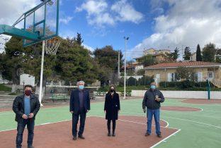 Αποκατάσταση και αναβάθμιση χώρου αθλοπαιδιών και παιδικής χαράς στην Καμάριζα